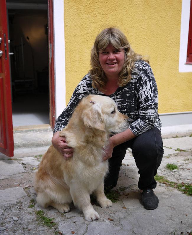 Mari Winarve och Vissla från Radioarken.