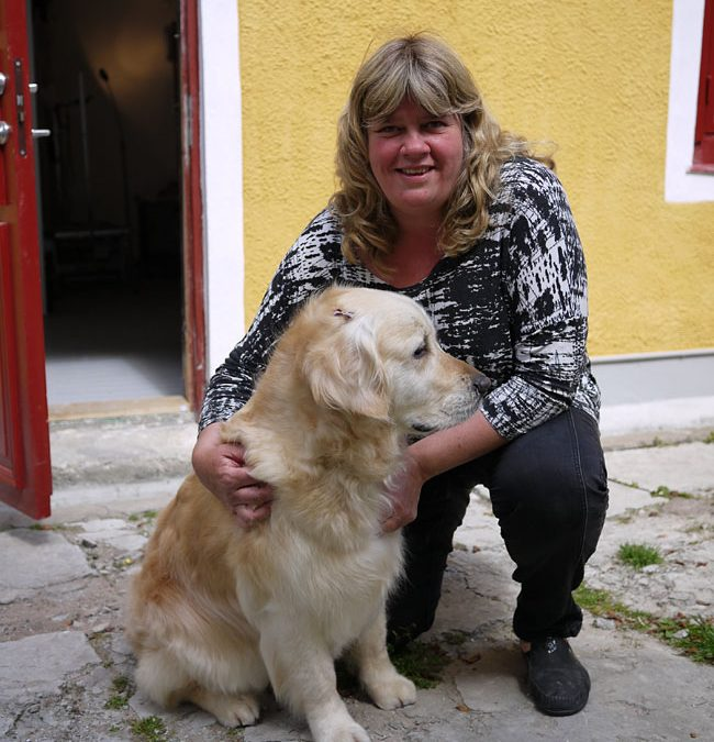 Radio Gotland hos Astas Dog Spa!